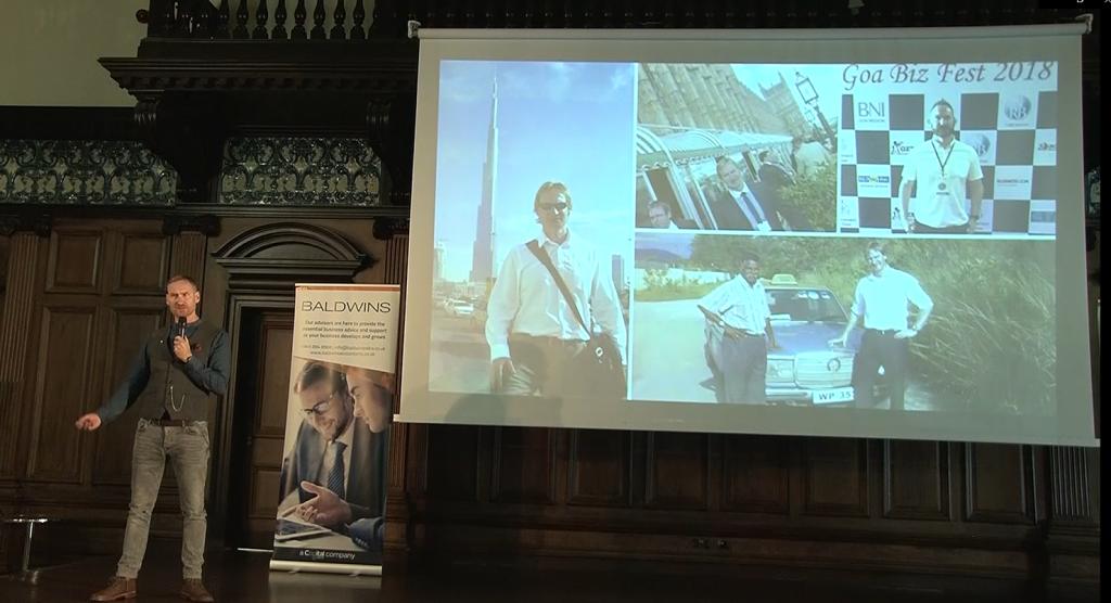 Ian Farrar Inspirational Speaker
