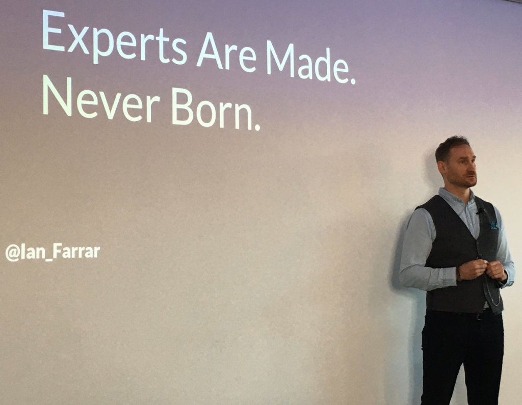 Motivational Speaker Ian Farrar